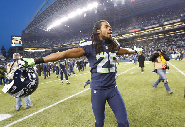 Richard Sherman beat a system that needed to be beaten. (Getty Images)