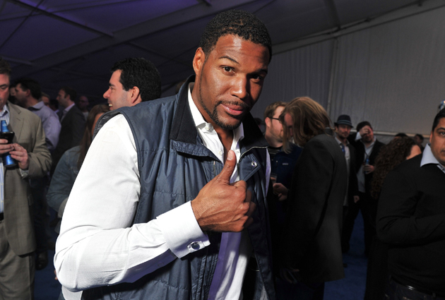 Michael Strahan has given his name to the same-sex marriage cause. (Getty Images)