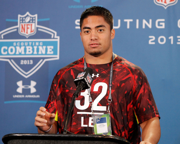 Manti Te'o said all the right things. Did you expect anything else? (USAT Sports Images)