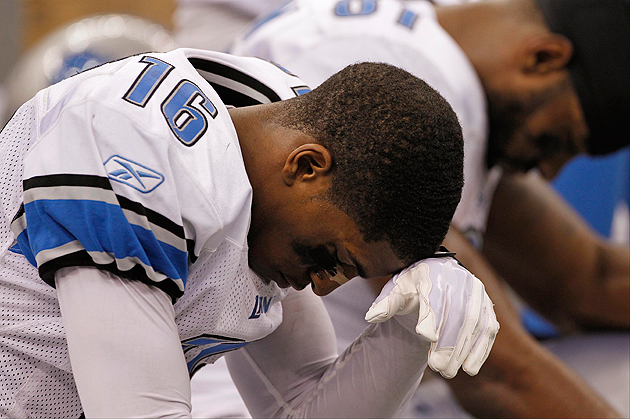 Titus Young needs a major life re-do. (Getty Images)