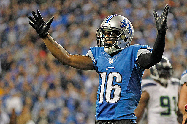 Titus Young was released by the Lions (Getty Images)