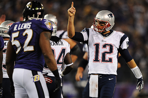 Tom Brady and Ray Lewis will meet for the last time (Getty Images)