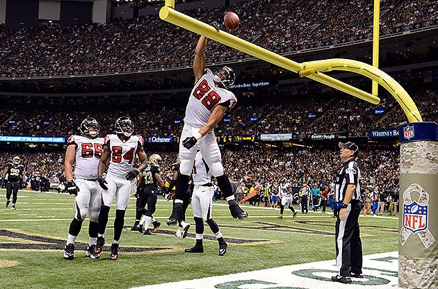 Will Tony Gonzalez (No. 88) return in 2013? (USA Today Sports Images)
