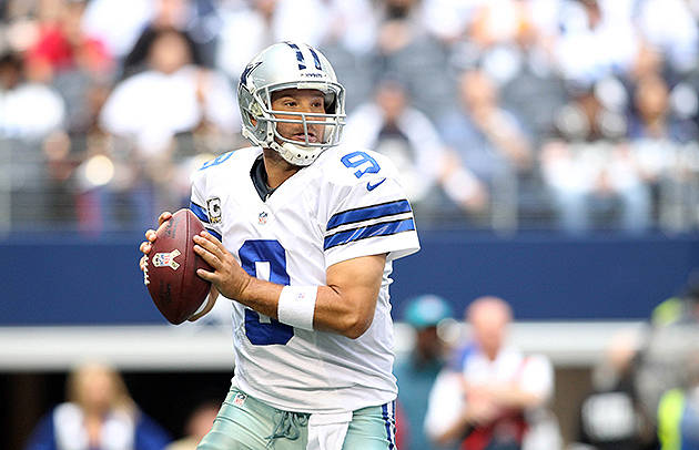 Tony Romo could have his contract extended (USA Today Sports Images)