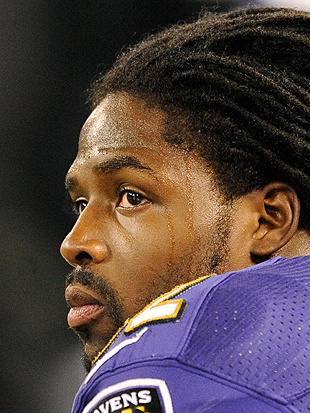 Torrey Smith was impressively ready for Sunday Night's game. (AP)