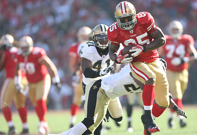 Bounties or not, the Saints couldn't keep up with the 49ers. (Getty Images)
