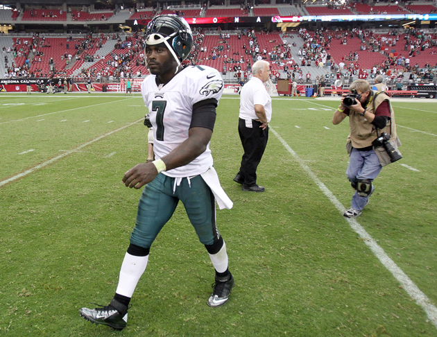 Michael Vick and the Eagles are desperate for solutions. (AP)
