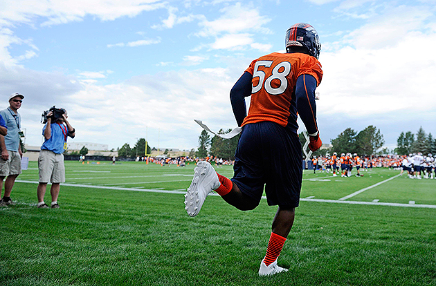 Von Miller is reportedly facing a six-game suspension (USA Today Sports Images)