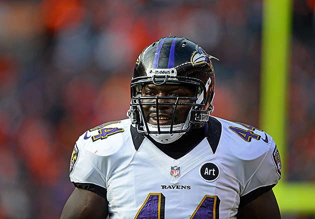 Vonta Leach has re-signed with the Ravens (USA Today Sports Images)