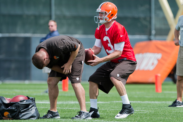 The NFL hasn't been automatic for Brandon Weeden. (Getty Images)