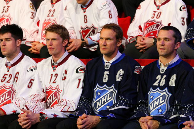 The 2011 NHL All-Star draft - Getty Images
