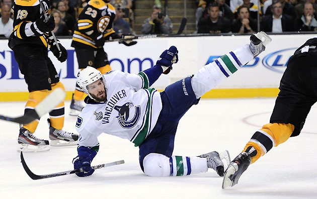 Ryan Kesler Singled Out As Diver In NHL's Crackdown On Embellishment