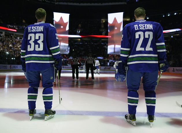 The Sedins - Getty Images