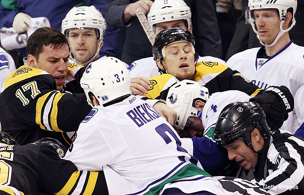 What We Learned: Canucks vs. Bruins is both the best and worst of hockey