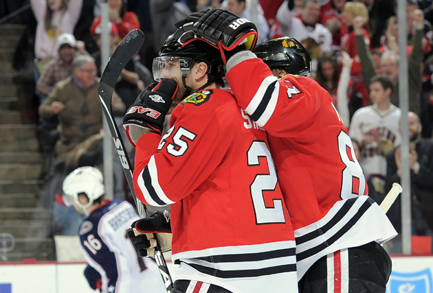 Stalberg gets loved on for hat trick - Getty Images