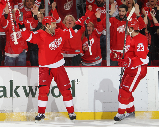 Todd Bertuzzi, all happy and whatnot - Getty Images