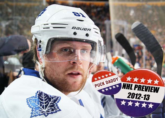 NHL 2012-13 Campaign Preview: Toronto Maple Leafs