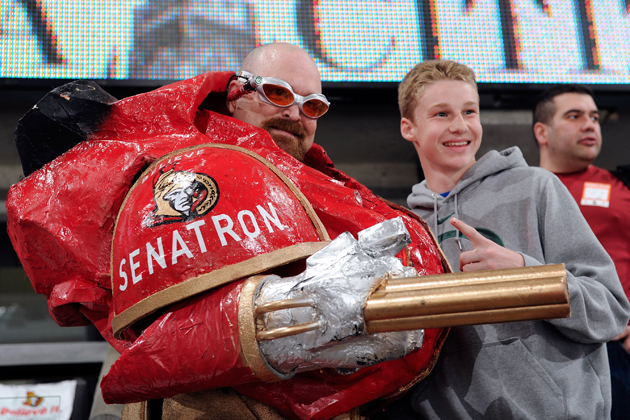 Senators win the post-lockout fan outreach wars with free beer at home opener
