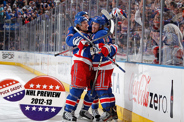 NHL 2012-13 Campaign Preview: New York Rangers