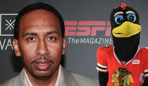 ESPN's Stephen A. Smith believes '3 ties' make Blackhawks' NHL record inferior to Miami Heat's streak (VIDEO)