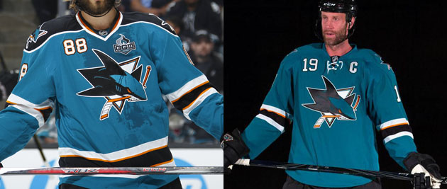 Pass or Fail: San Jose Sharks new home, away jerseys