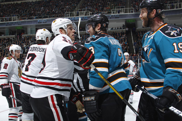 Streaks collide as Sharks visit Blackhawks; Julien defends Cooke (Puck Previews)