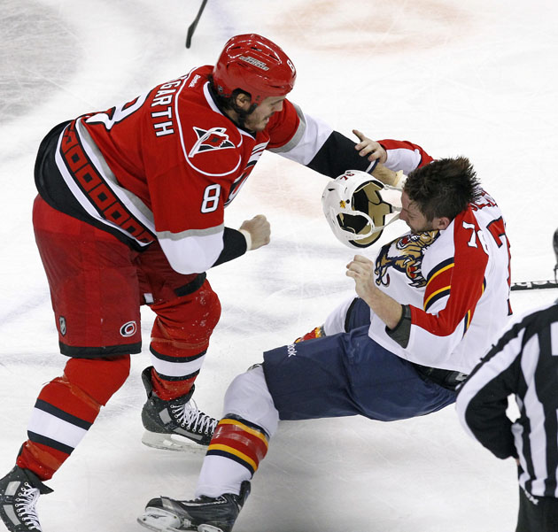 Panthers' Eric Selleck suspended two games after fight he definitely lost (VIDEO)
