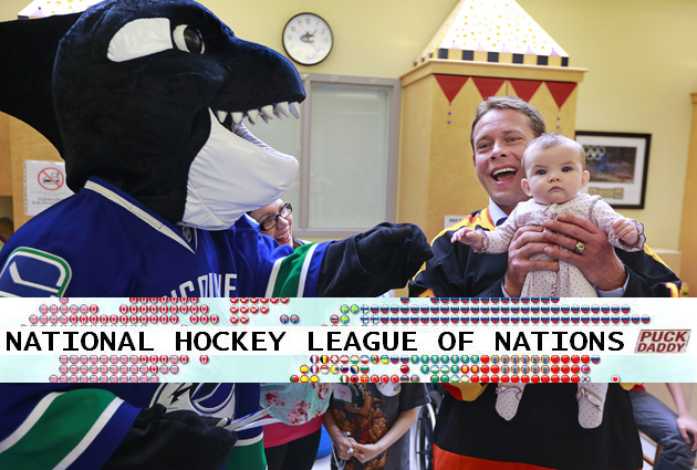 Vancouver Canucks, National Hockey League of Nations