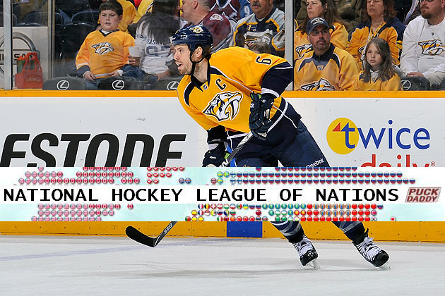 Nashville Predators, National Hockey League of Nations