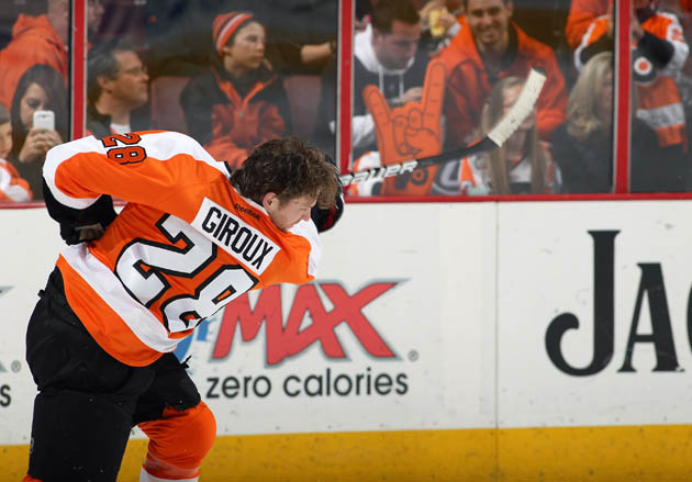 Claude Giroux, Flyers agree to eight year, $66.2 million extension