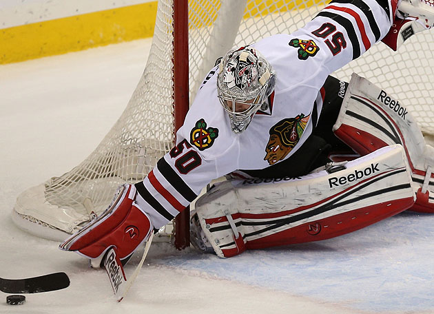 Corey Crawford's Unsung Playoff Heroism For Chicago Blackhawks