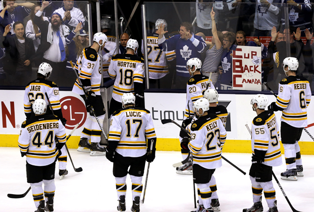 Stranded Bruins reward fans who fed them with Game 7 tickets