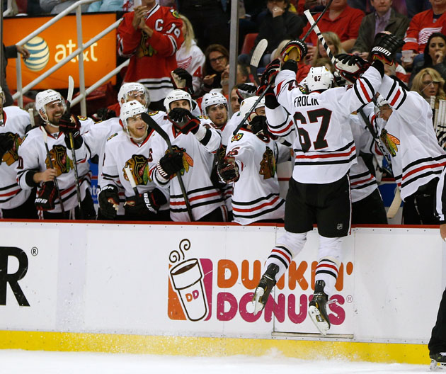Blackhawks force Game 7 after Michael Frolik's nasty penalty shot goal (Video)