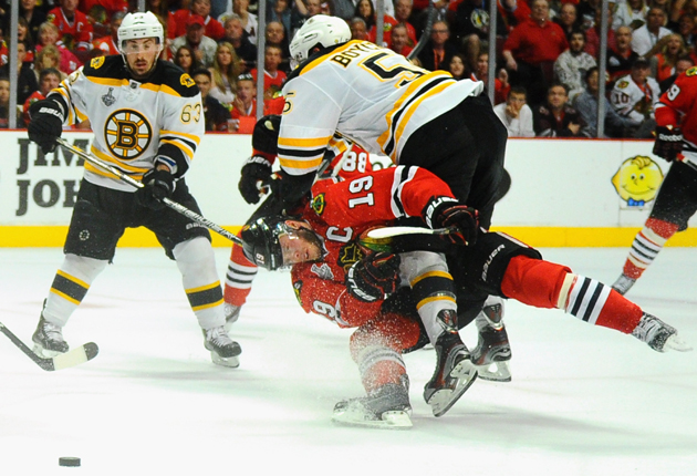 No suspension for Boychuk; will Toews, Bergeron be available for Game 6?