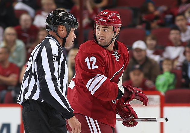 Paul Bissonnette suspended 10 games after leaving bench to fight Jordan Nolan
