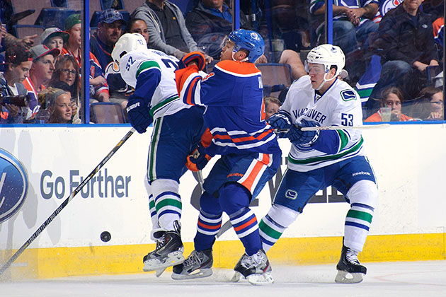 Canucks' Weise earns three-game ban for headshot on Taylor Hall