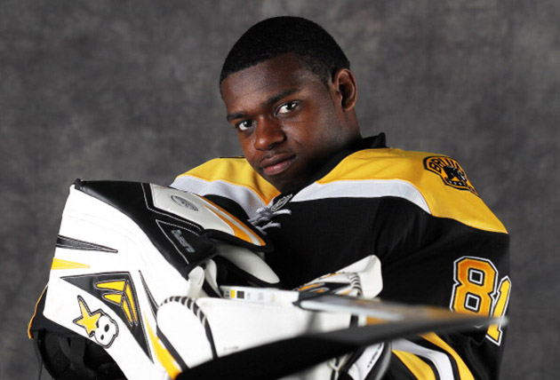 Photo of P.K. Subban & his  Brother  Malcolm Subban