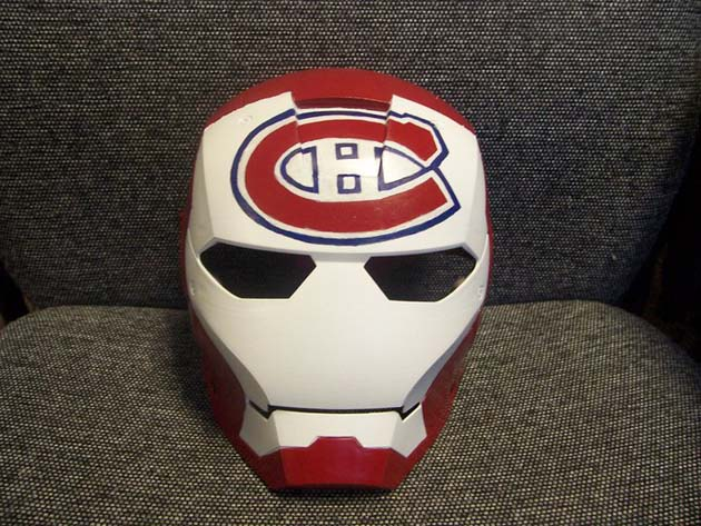 Iron Man for Montreal Canadiens fans