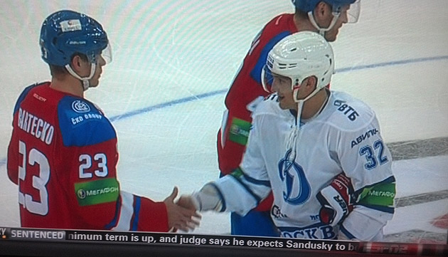 Puck Daddy's KHL on ESPN2 recap: Ovechkin scores, Barry Melrose's funny Euro names