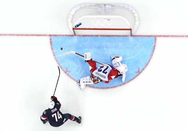 Sochi: How T.J. Oshie Became Team USA's Shootout Specialist - A History (video)