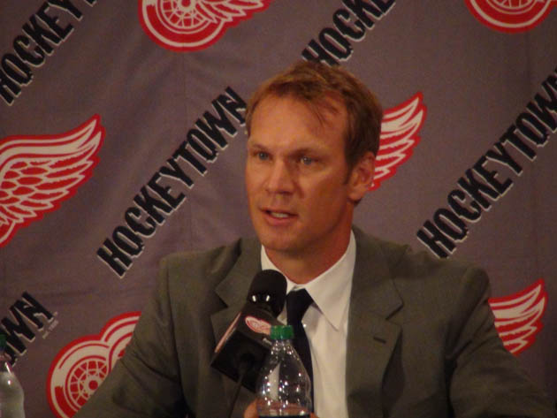 Nicklas Lidstrom (via @DetroitRedWings)