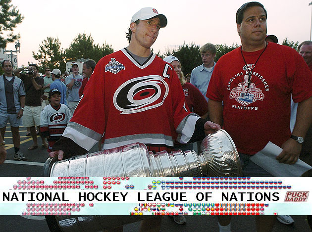 Carolina Hurricanes, National Hockey League of Nations