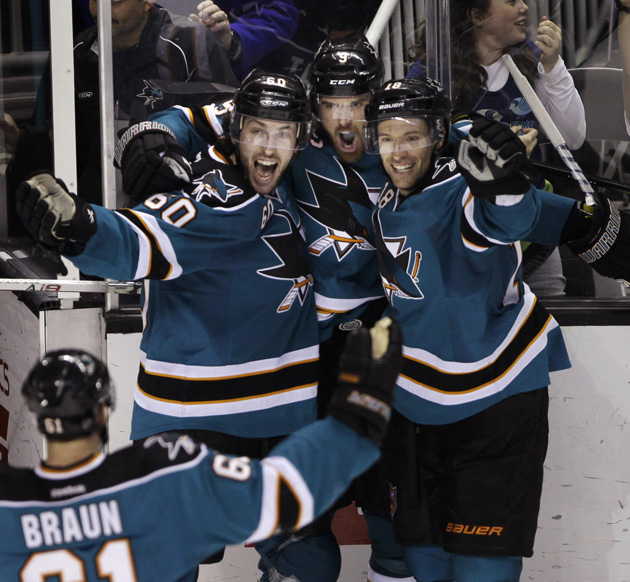 Sharks Hockey Hug