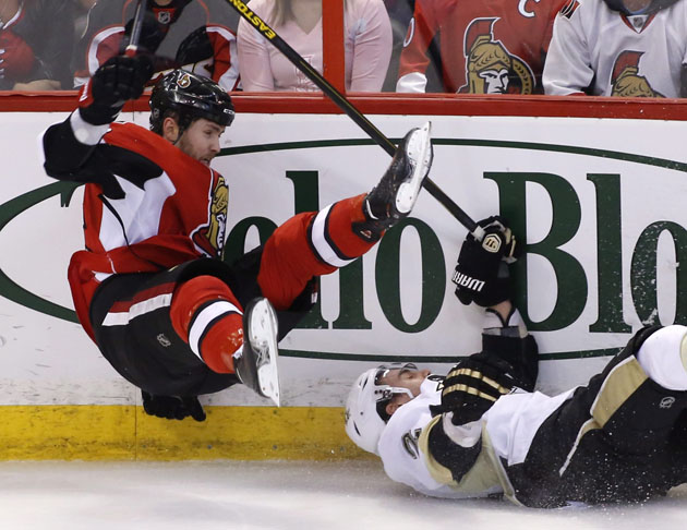 NHL Three Stars: Anderson shines in Sens' comeback; Krug's two-point night