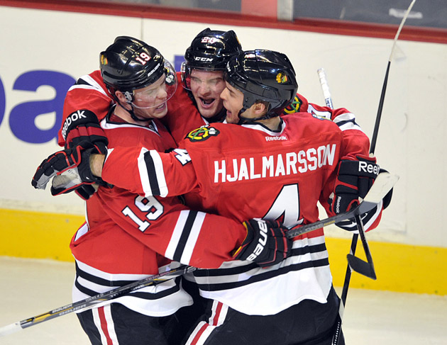 Hockey Hugs: Beauchemin's crazy eyes, Aucoin goes rogue, the littlest hug