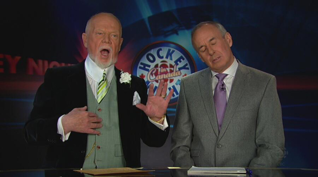Don Cherry on Keith incident: 'I don't believe women should be in the male dressing room' (Video)