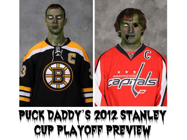 Boston Bruins vs. Washington Capitals: Puck Daddy's NHL 2012 Stanley Cup Playoff Preview