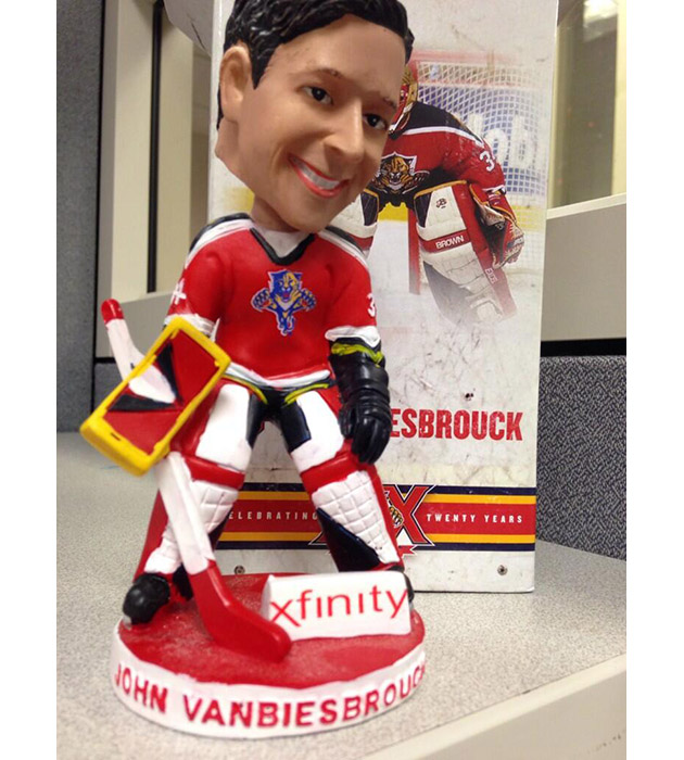 Behold Horrors Of The John Vanbiesbrouck Panthers Bobblehead (Photo)