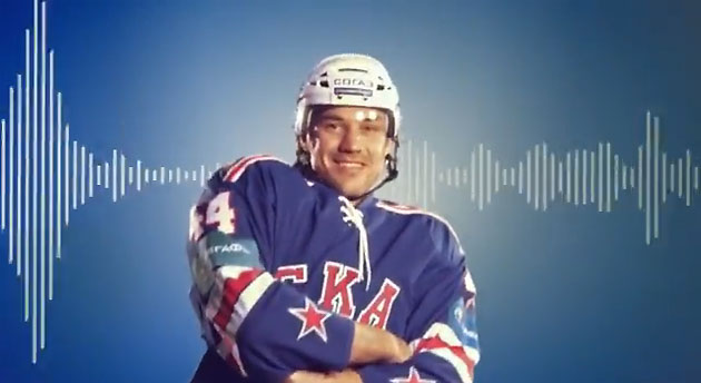 Watch ice girl cheerleaders, Ilya Kovalchuk boogieing down in another baffling KHL video