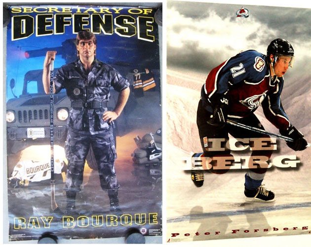 Puck Daddy Reader Art Contest: Create a cheesy 1990s-style NHL Player Poster